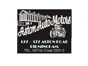 Aston Auto Motors Motorcycle Dealer Decals Transfers DDQ107